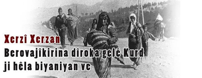 Berovajîkirina dîroka gelê Kurd ji hêla biyaniyan ve