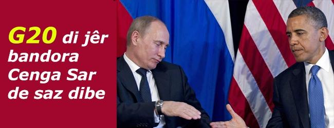 G20 di jêr bandora Cenga Sar de saz dibe