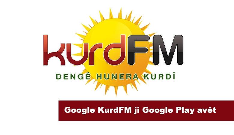 Google KurdFM ji Google Play avêt