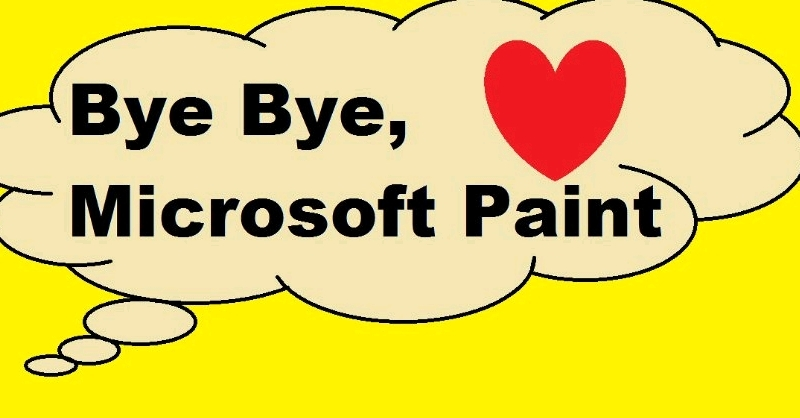 Microsoft Paint piştî 32 salan tê rakirin