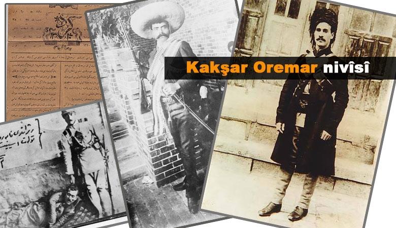 Rojnameya Kurdî û hizrên Simkoyê Şikak | Kakşar Oremar