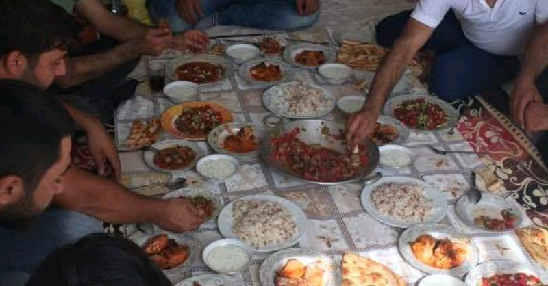 Sifra xwarinê û vegera ji Tetwanê - Zeynelabidin Zinar